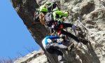 Alpinista bloccato lungo una ferrata: portato a valle dal soccorso alpino