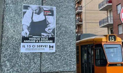 Manifesti di protesta per lo spostamento del capolinea: il tram 15 mobilita tutto il quartiere
