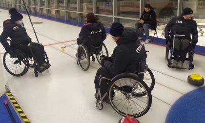 Il curling, singolare sport olimpico, declinato a Torino anche per chi è disabile