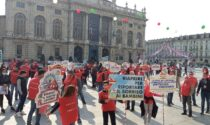 """Manifestazione dei giostrai in Piazza Castello: """"Il lockdown ci uccide"""""""