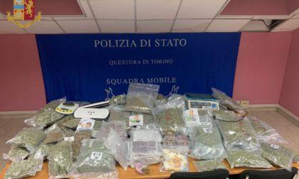 Fattorino della droga arrestato, insieme alla corrispondenza consegnava hashish e marijuana