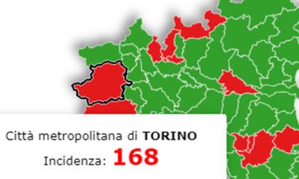 Piemonte in giallo da lunedì? Sì, ma la provincia di Torino non è così sicura…