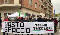 Torino Tricolore e commercianti contro lo spaccio LE FOTO