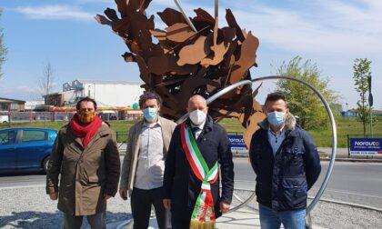 """""""Terra"""", a Collegno l'opera dello scultore Carlo D'Oria"""