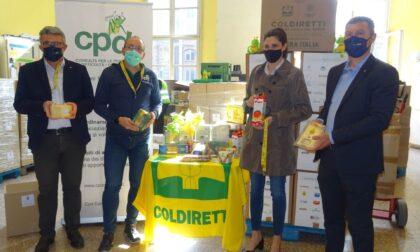 Made in Italy a Pasqua per 20mila famiglie bisognose: a Torino consegnati 72 quintali di cibo