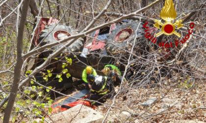 Imprenditore 53enne muore schiacciato dal suo trattore