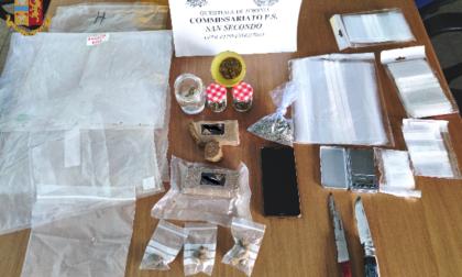 Arrestato per spaccio: oltre 250 grammi di droga sequestrata