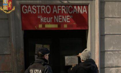 Violazione delle normative anti Covid: gastronomia africana sigillata dalla Polizia