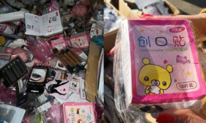 Sequestrati 7 container contenenti 62.000 prodotti non sicuri