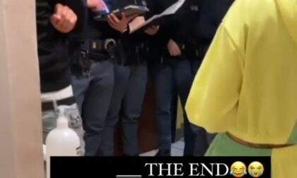 Festa abusiva in casa, multati dalla Polizia sei ragazzi
