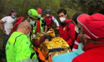 Colle della Maddalena: biker cade, batte la testa e sviene