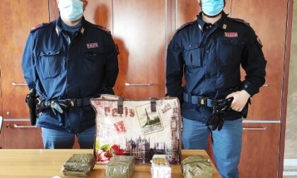 Aveva in casa 900 grammi di stupefacente, arrestato