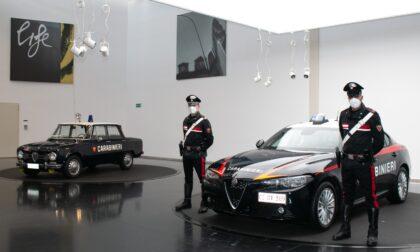 Alfa Romeo, presentata a Torino la nuova Giulia dei Carabinieri