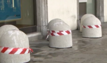 Piazza Statuto: i 15 dissuasori di cemento verranno rimossi