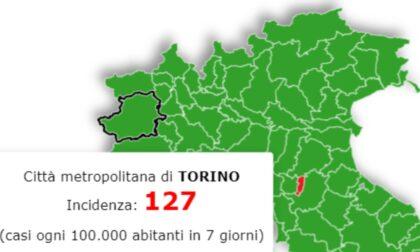 Oggi il cambio dei colori, ma Torino e Piemonte restano in zona gialla. La situazione in provincia