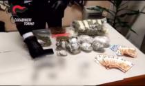 In casa un chilo e mezzo di hashish e marijuana: arrestato pusher 30enne