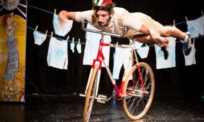 Il teatro di Venaria rende omaggio al Giro d'Italia