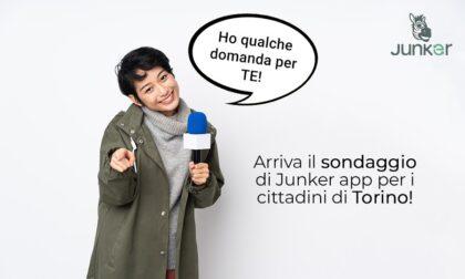 Rifiuti: l'app Junker lancia un sondaggio per i torinesi