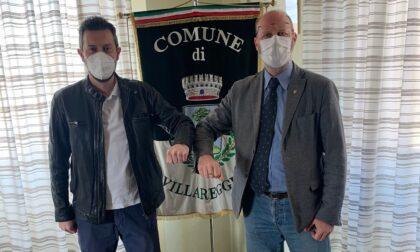 Provinciale 88 a Villareggia, i lavori procedono spediti: la visita al cantiere di sindaco e Città Metropolitana
