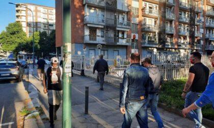 Via Boston fra spaccio e degrado: le ronde di Torino Tricolore
