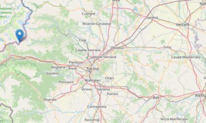 Scossa di terremoto di magnitudo 2.2 nel Torinese