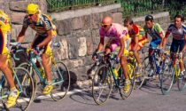 Claudio Chiappucci a Varallo Sesia per la mostra dedicata a Pantani