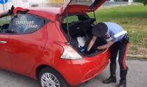 Un chilo di cocaina nel vano della ruota di scorta: arrestato corriere della droga