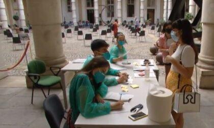 Avviate le somministrazioni all'hub vaccinale dell'Università: precedenza agli Erasmus