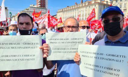 Sindacati in piazza contro lo sblocco dei licenziamenti