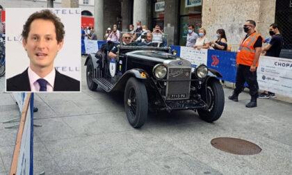 Mille Miglia in salsa torinese: John Elkann partecipa alla corsa storica