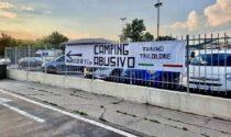 Campeggio abusivo dei rom al cimitero: la protesta di Torino Tricolore