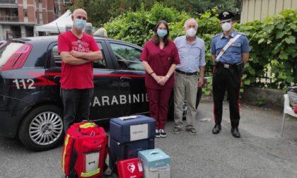 Vaccini a domicilio grazie ai Carabinieri