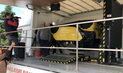 Simulatore di incidenti in Piazza San Carlo: provare per credere