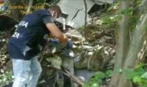 Deposito incontrollato di rifiuti pericolosi: 70 tonnellate di materiale di scarto in un'area boschiva