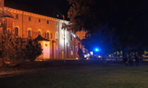 Vercelli: fiamme alla Basilica di Sant'Andrea
