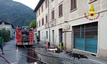 Incendio in panetteria: lievemente intossicato il proprietario