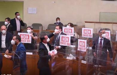 Terremoto in Regione Piemonte: approvata la legge sul gioco d'azzardo