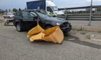Incidente in corso Allamano a Grugliasco, automobilista in gravi condizioni