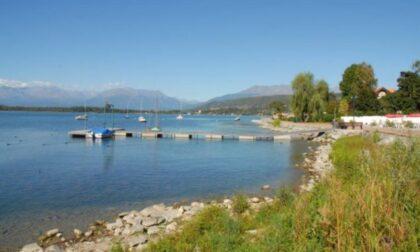Dal lago di Viverone affiora il cadavere di una donna