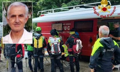 Scomparso in montagna per due giorni consecutivi, trovato senza vita in una canalone