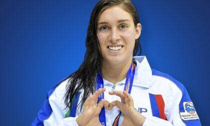 La nuotatrice torinese Gilli domani inizierà le Paralimpiadi di Tokyo