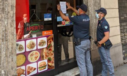 Kebabbaro chiuso per mancato rispetto delle normative anti Covid