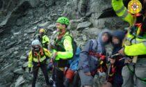 Le foto dei dodici scout sorpresi dal maltempo e bloccati in Valle Pellice: salvi