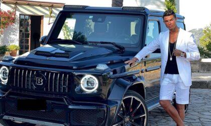 L'ultima mossa di Ronaldo: Cr7 si fa bello col Mercedes Brabus da 300mila euro
