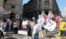 Bloccati i No Tav in città a Torino per contestare la Lamorgese