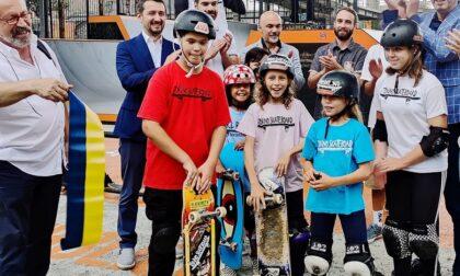 Skate park Lungo Dora: l'inaugurazione