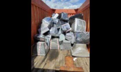 Traffico internazionale di rifiuti speciali: scoperte oltre sette tonnellate di apparecchiature elettriche ed elettroniche
