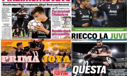 La Juve resuscita in Champions, ma in Italia... il Toro è davanti!