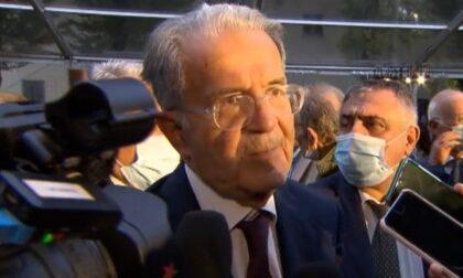 L'ex premier Romano Prodi a Santena per ritirare un premio intitolato a Cavour