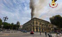 Incendio piazza Carlo Felice: entro un mese tutti gli inquilini potranno rientrare a casa